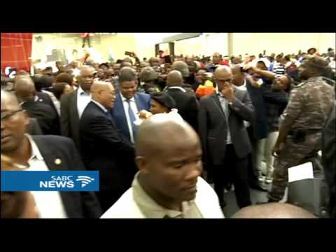 President Zuma vows to deal with crime in Soshanguve