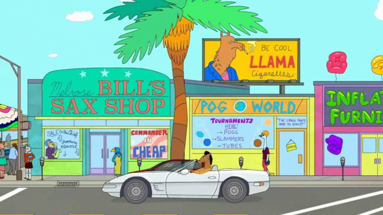bojack horseman all generic songs 80s 90s and 2007 youtube