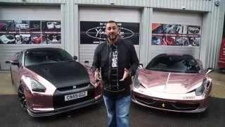 Gold Nissan GT-R Videos