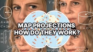 Map Projections Explained - A Beginners Guide