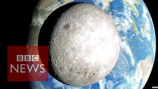 Nasa reveals far side of the Moon