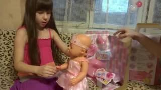 New doll Baby Born unpacking Новая кукла Беби Бoрн распаковка
