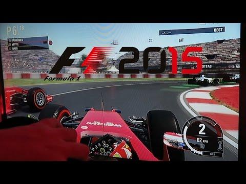 F1 2015 Gameplay – Ferrari Sebastian Vettel Canada Race