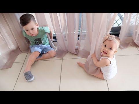 CHIC CŨNG BIẾT CHƠI Ú OÀ !!!   Vlog 48, Năm 2018