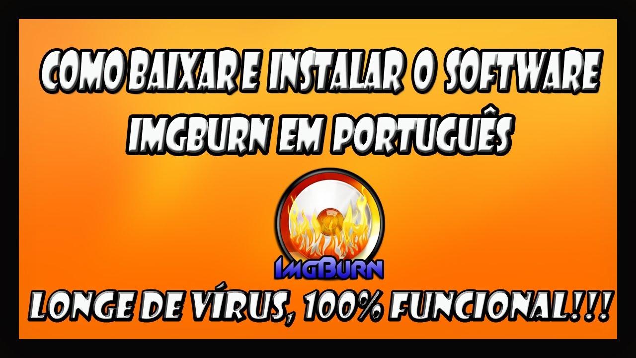 PORTUGUES BAIXAR IMGBURN COMPLETO EM
