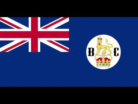 The anthem of the British Crown Colony of British Columbia