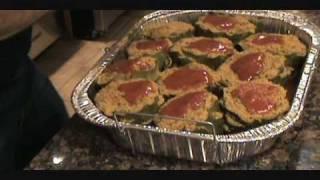 Italian Stuffed Artichokes - Sicilian Style - Easter  Diner Recipe
