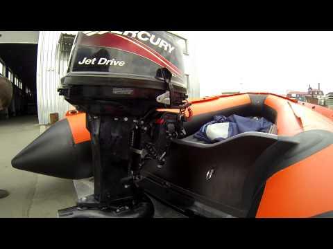 Мой новый СОЛАР 420 jet - водомет/Mercury 25 jet/Выбор лодки для горных рек