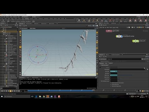 Repeat Houdini Masterclass - Bullet Solver by VFX HIVE
