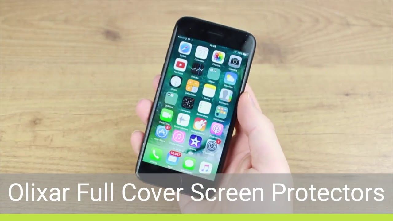 673e9317e1 Olixar full cover i phone 7 front & back screen protector installation  guide & review