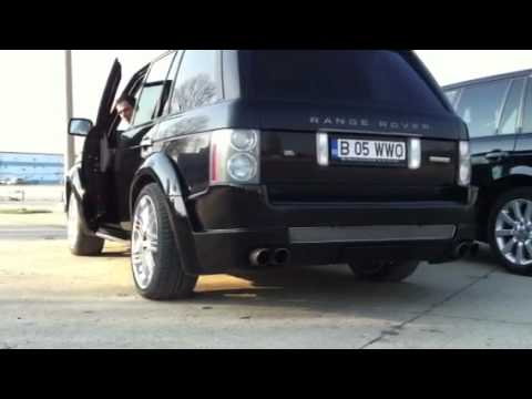 RANGE ROVER VOGUE ARVision Exhaust