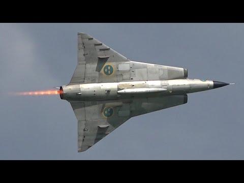 Saab 35 Draken | SPITTING FLAMES