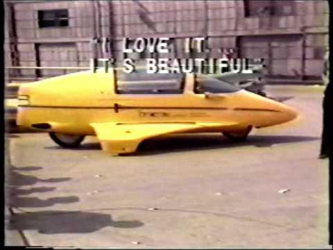 The Litestar Autocycle - Chicago Auto Show Circa 1984