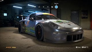 Need For Speed 2015 - Porsche 911 GT3 RS 991 2015 - Customize Car | Tuning (XboxONE HD) [1080p]