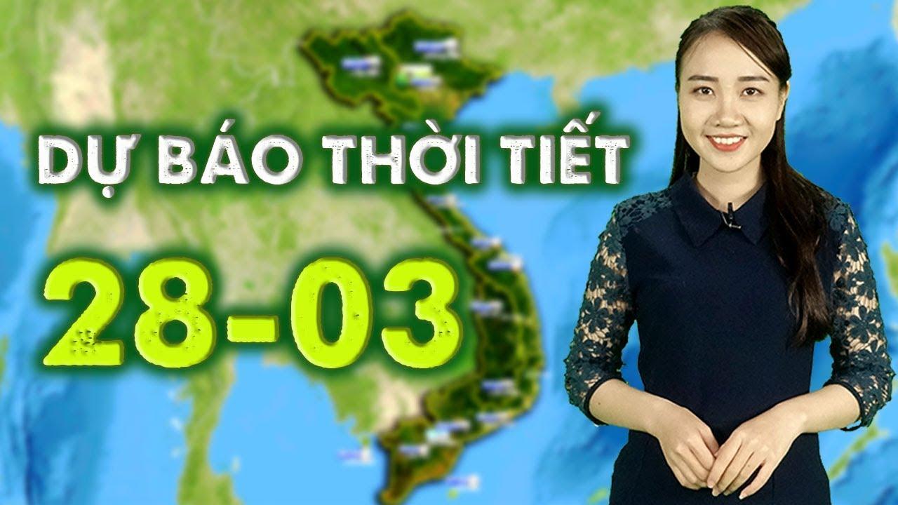 Dự báo thời tiết ngày 28/03/2019 – Sài Gòn tia UV ở mức rất cao