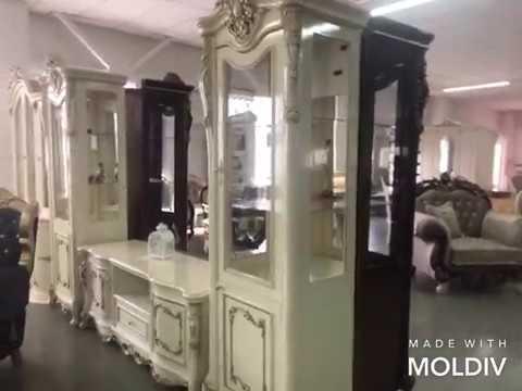 Гостиная Джоконда классическая мебель в магазине Baroccomebel Екатеринбург