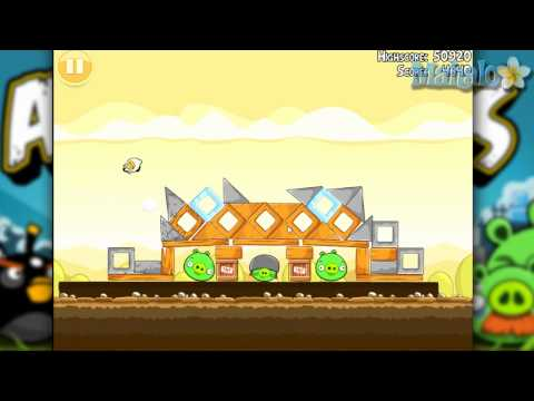 Angry Birds Mighty Hoax Level 5-14