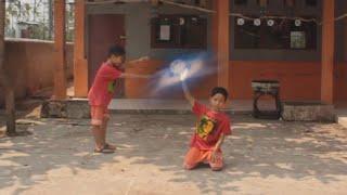 chidori vs rasengan shuriken real life