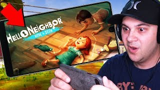 HELLO NEIGHBOR HIDE & SEEK ON MOBILE?! WHAT'S NEW? | Hello Neighbor Hide & Seek