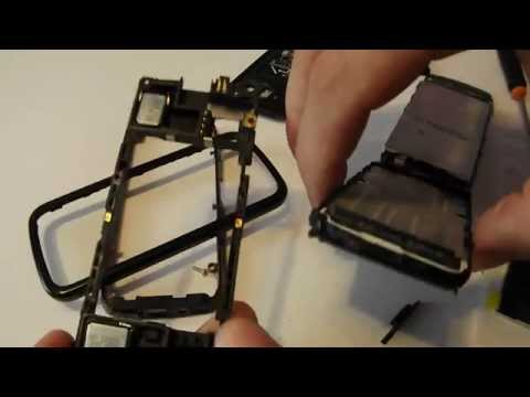 Nokia 5800 XpressMusic Disassembly & Assembly - Digitizer, Screen & Case Replacement Repair