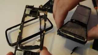 Nokia 5800 XpressMusic Disassembly & Assembly Digitizer, Screen & Case Replacement Repair