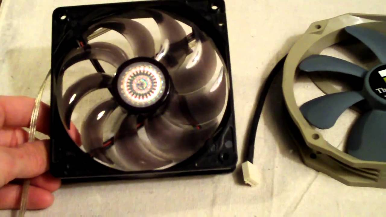 computer fan airflow direction tutorial [ 1280 x 720 Pixel ]