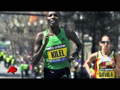 Mutai Wins Boston Marathon in Record 2:03:02