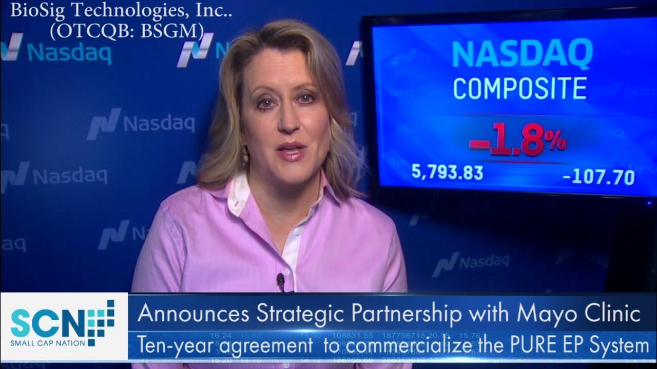 BioSig (BSGM) Technologies Announces Strategic Partnership with ...
