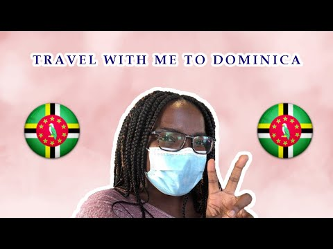 TRAVEL WITH ME TO DOMINICA 🇩🇲  || CARIBBEAN VIBES || CARIBBE