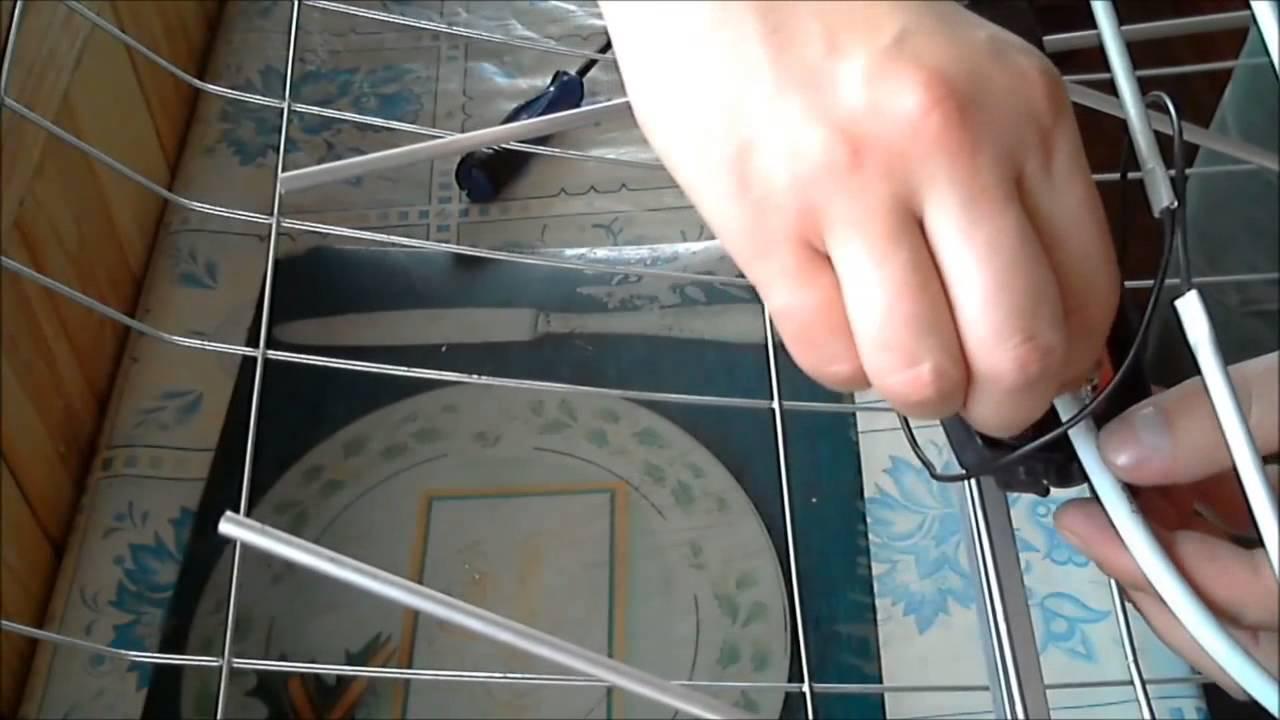 Схема подключения кабеля к антенне фото 219