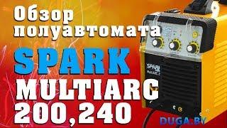 Сварочные полуавтоматы SPARK MultiARC(Сварочный полуавтомат Spark MultiARC 200 - http://www.duga.by/svarka-leto-spark/spark-multiarc-200-220v-mig-mag-mma-tig-dc.html Сварочный ..., 2013-06-12T12:48:40.000Z)