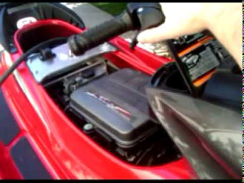 Kawasaki Ultra Oil Change