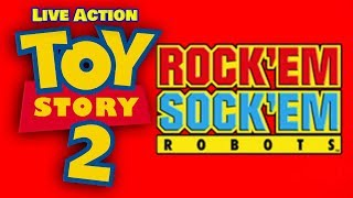 Toy Story 2 Remake Clip: Rock 'Em Sock 'Em Robots!