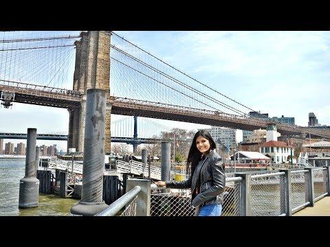 Matcha Ice Cream And Dreevayin' On The Brooklyn Bridge