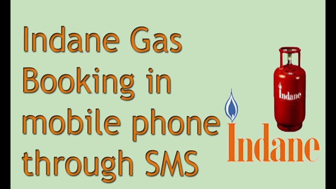 How to gas booking in your mobile phone through SMS   YouTube