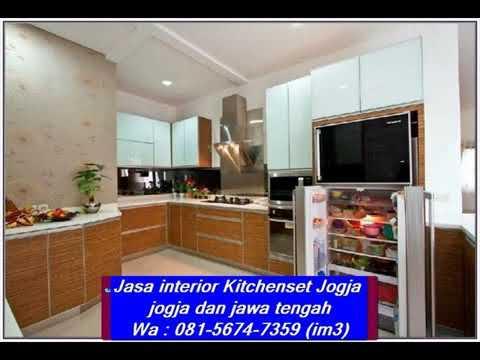 Wa 081 5674 7359 Im3 Jasa Kitchenset Jogja Interior Harga Kitchen Set Di Solo Harga Kitchen Set Hp