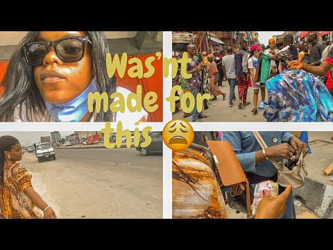 Market day in Lagos Post-lockdown 2020  A day in my life