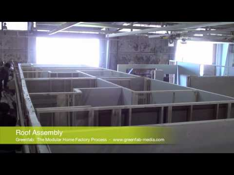 Greenfab The Modular Home Factory Process.mov