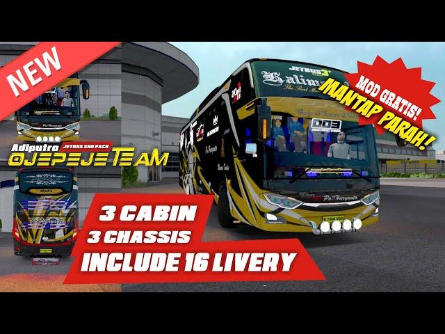 Mod Gratis Joss!!! AdiPutro Jetbus SHD Pack by Ojepeje Team
