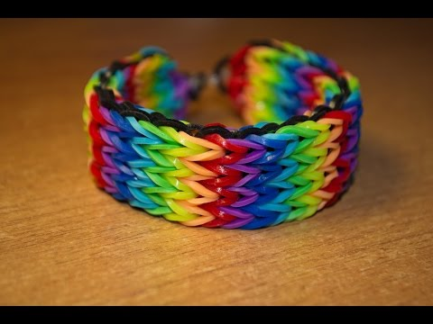 Rainbow Loom Bands. Видеоуроки
