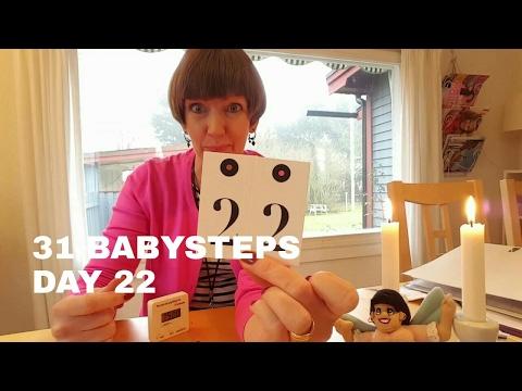 Flylady's 31 Babysteps Day 22 (building blocks, Procrastination)