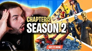 EVERYTHING NEW IN FORTNITE CHAPTER 2 SEASON 2! BATTLE PASS IS CRAZY!