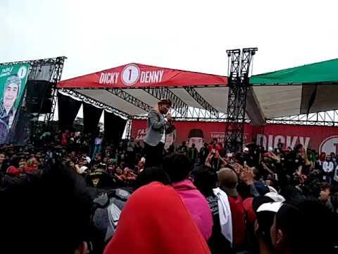 SULE - Lagu Baruku Cingciripit l Kampanye Tebuka DICKY - DENNY l  Dadaha Tasikmalaya 29-01-2017