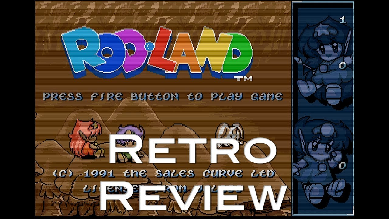 Retro Review: Rod-Land (Amiga)