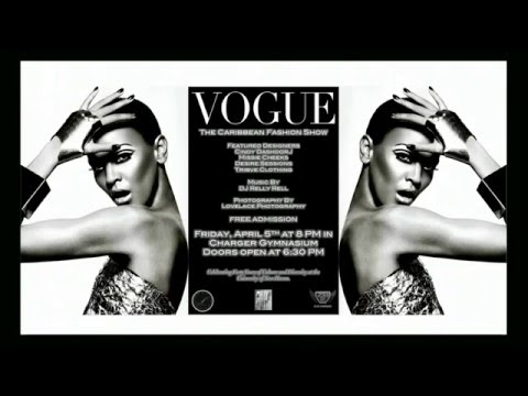 UNH Caribbean Student Association 2013 Fashion Show : Vogue The Caribbean