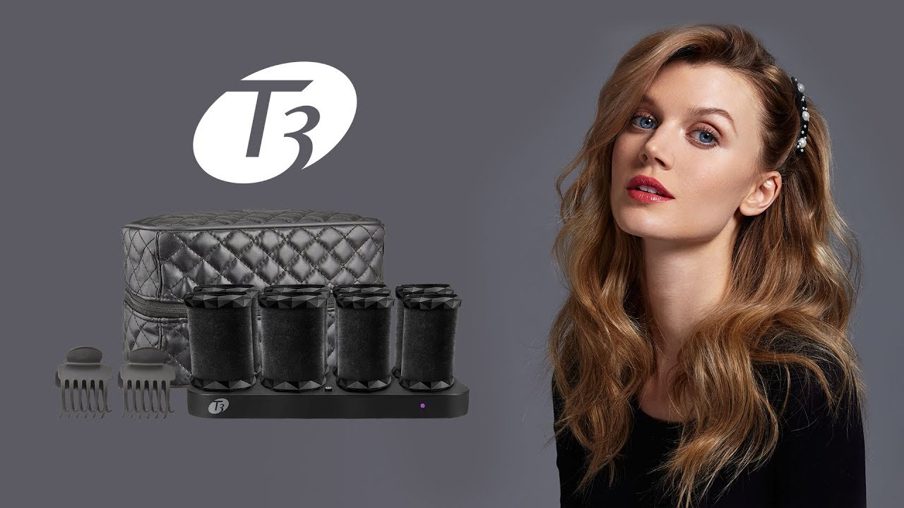 New T3 Volumizing Hot Rollers Luxe Testing Out Shaylee Glaziner