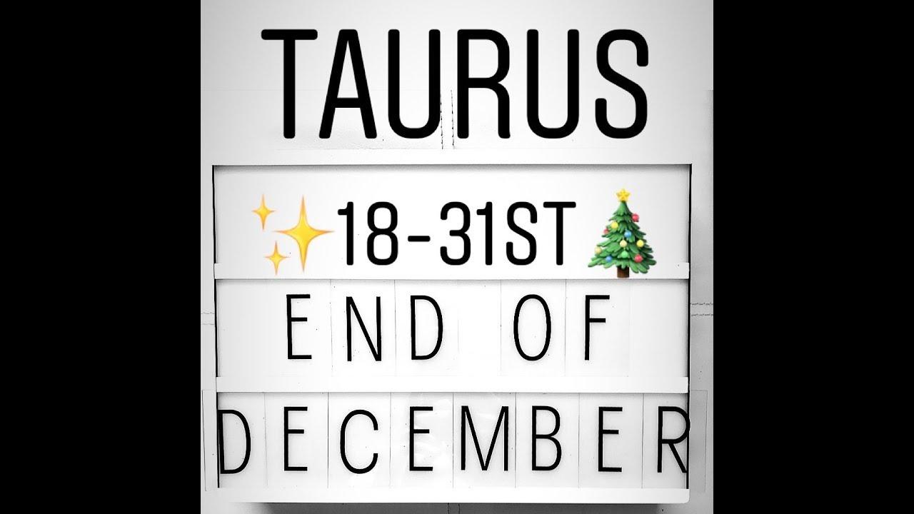 december taurus tarot