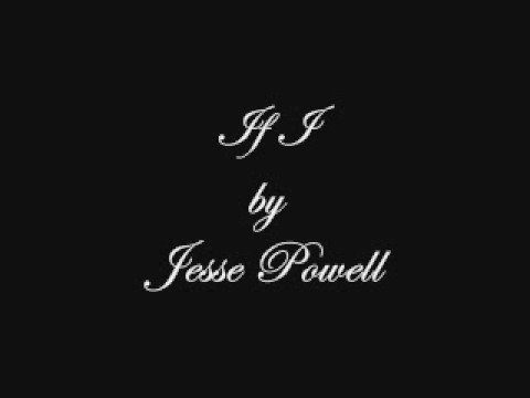 If I by Jesse Powell