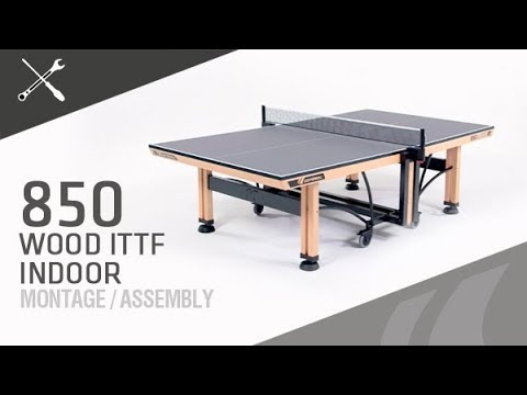 "Video: Cornilleau Tischtennistisch ""Competition 850 Wood"""