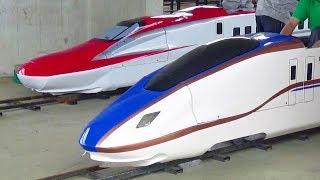 ミニ新幹線(E6系、E7系)大宮鉄道ふれあいフェア